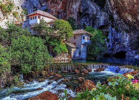 Elenarts - Elena Duvernay photo - Small village Blagaj on Buna waterfall, Bosnia and Herzegovina