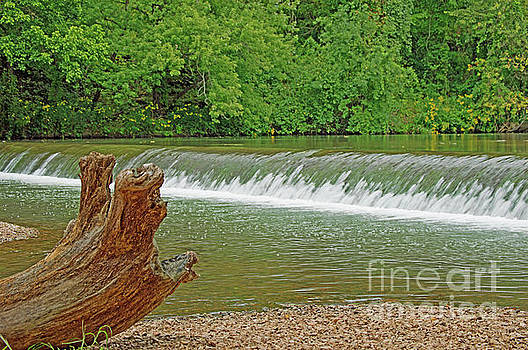 Small waterfall by Diane Friend