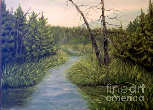 Small Waterways by Peggy Miller
