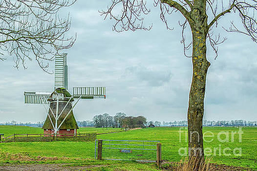 Small windmill by Patricia Hofmeester