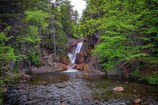 Smalls Falls II by Rick Berk