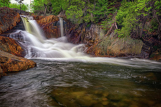Smalls Falls by Rick Berk