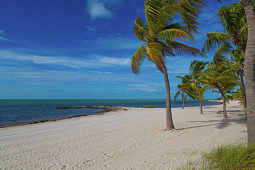 Smathers Beach, Key West, Florida by Kimberly Blom-Roemer