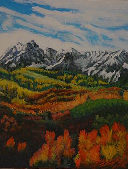 Smell of Fall at telluride. by Larry Wilkinson