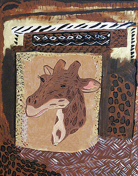 Smiley the Giraffe by Judy Huck