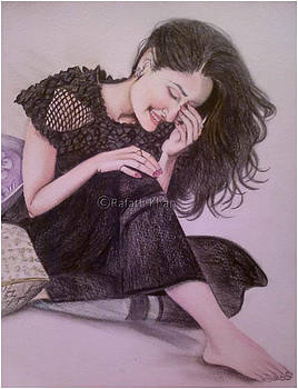 Smiling Beauty by Rafath Khan