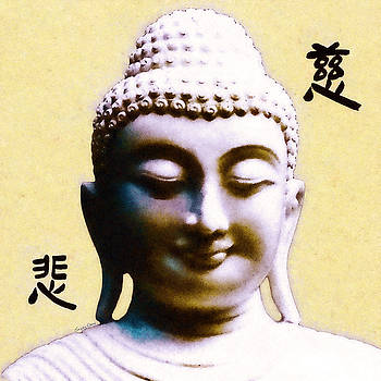 Smiling Buddha by Stacey Chiew