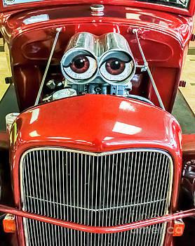 Smiling car by David Lane