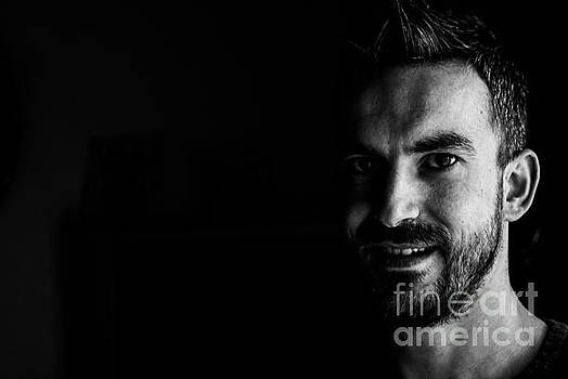 Smiling into Darkness by Selim Aydin