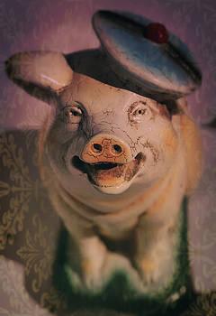 Smiling Pig by Sheryl Bergman