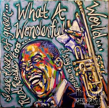 Smiling Satchmo by Tami Curtis