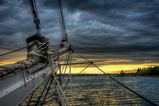 Smith Cove Sunset by Fred LeBlanc