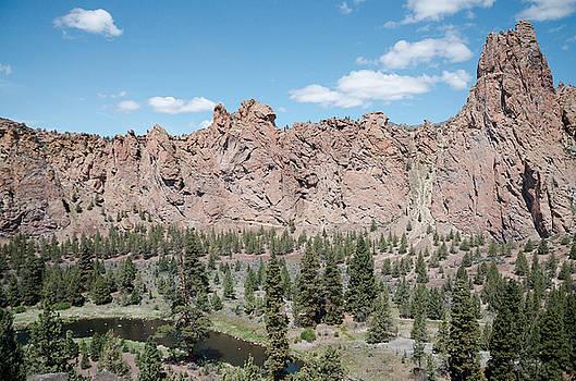 Margaret Pitcher - Smith Rock State Park Grandeur