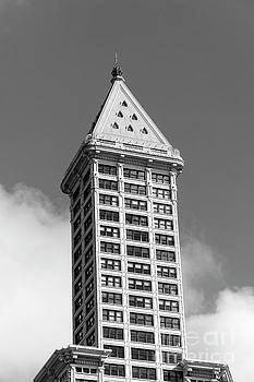 Smith Tower Seattle 2 by John  Mitchell