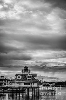 Smithfield Lighthouse 5621_BW by Doug Berry