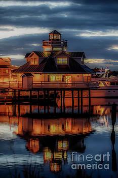 Doug Berry - Smithfield Lighthouse at Night 5878V_G