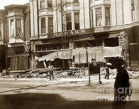 California Views Mr Pat Hathaway Archives - Smiths Kodaks 13th Street Oakland April 18, 1906