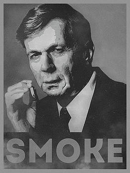 Smoke Funny Obama Hope Parody Smoking Man by Philipp Rietz