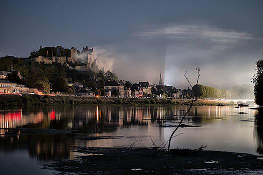Smoke on the Castle by Baptiste De Izarra