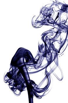 Alexander Butler - Smoke Photography - Blue