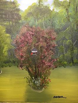 Smoke Tree Garden by David Bartsch