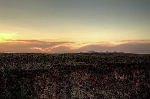 Smoke Waves Over Colorado by Jim Allsopp
