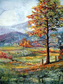 Smokey Mountain Autumn by Mary Sonya  Conti