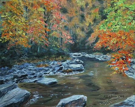 Smokey Mountain Autumn by Stanton Allaben