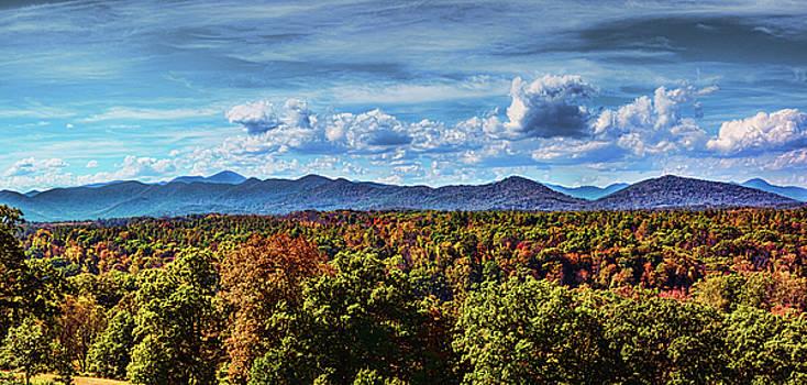 Smokey Mountain Panorama by David Lane