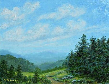 Smokey Mountains Calling Me by Kathleen McDermott