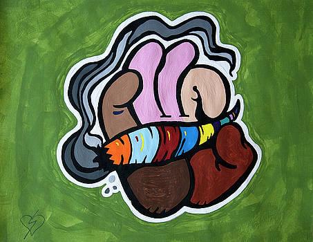 Smoking A Blunt by Stormm Bradshaw