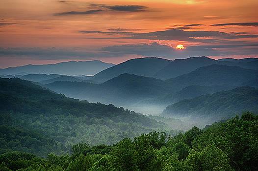 Smoky Mountain Good Morning by Karen Lawson