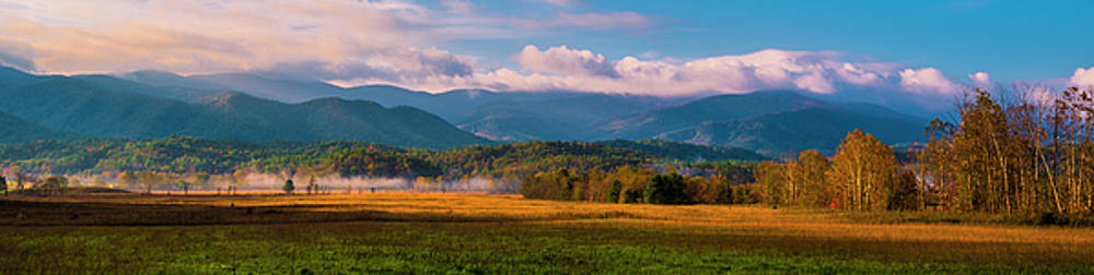 Smoky Mountains At Cades Cove I by Steven Ainsworth