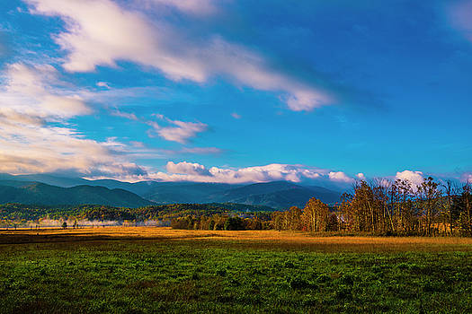 Smoky Mountains At Cades Cove III by Steven Ainsworth