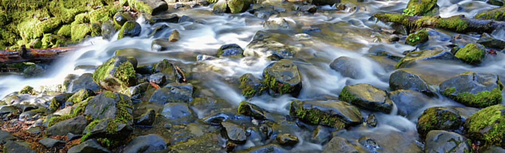 Smooth Brook Panorama by Rick Lawler