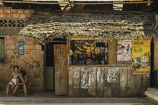 Allen Sheffield - Snack Shop - Iquitos, Peru