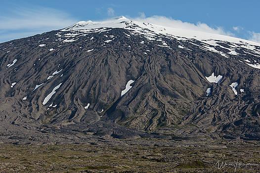 Snaefellsjokull, Iceland - 3340,S by Wally Hampton