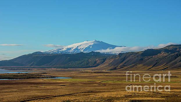Snaefellsjokull volcano Iceland by Chris Thaxter