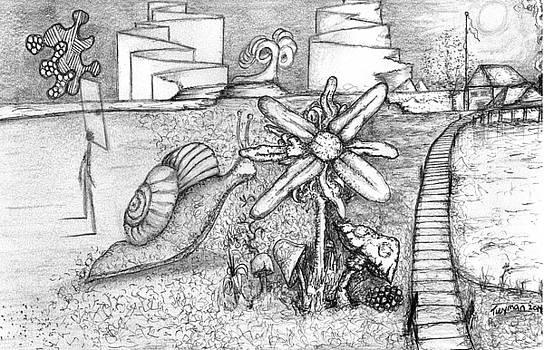 Snail Flower by Dan Twyman