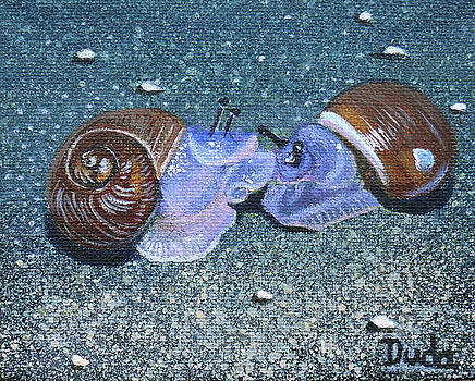 Snail Kisses by Susan Duda
