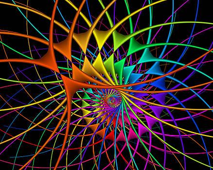 Snail owerdose of LSD. by Tautvydas Davainis