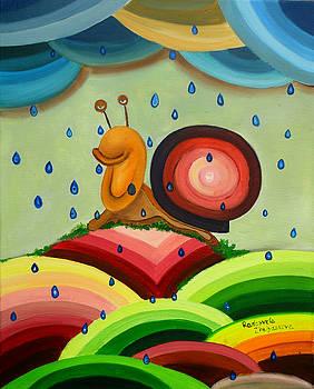 Snail by Radosveta Zhelyazkova