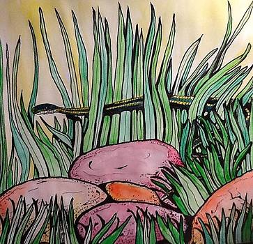 Snake in the GraSS by Robert Hilger