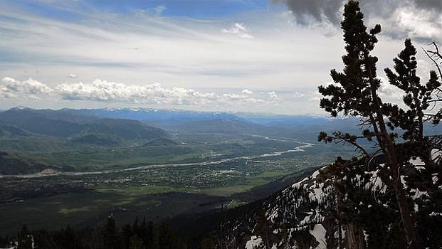 Snake River Overlook by Barkley Simpson