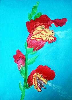 Snap Dragons by Siobhan Shene
