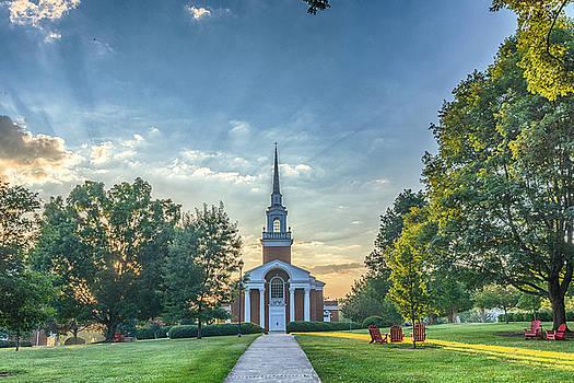 Snidow Chapel at Lynchburg College by Steve Hammer