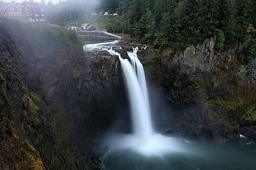 Snoqualmie Falls  by Brad Walters