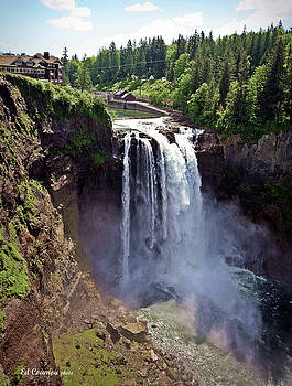 Snoqualmie Falls by Edward Coumou