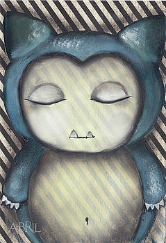 Snorlax by Abril Andrade Griffith