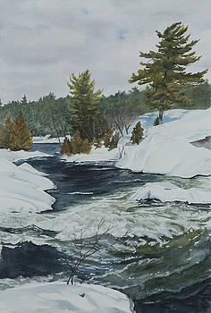 Snow and Islands by Debbie Homewood